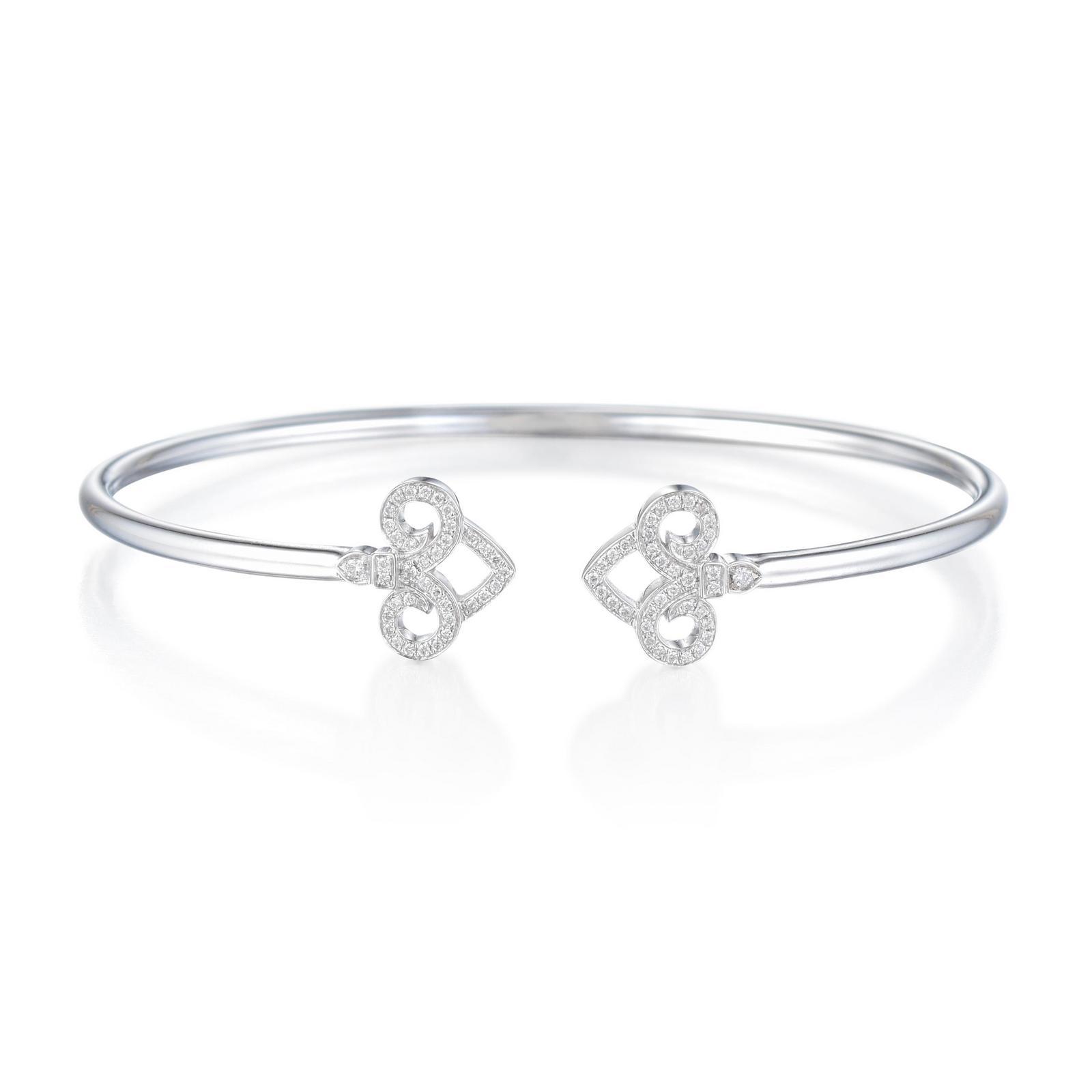 35b132dc9 Tiffany & Co. Fleur de Lis Wire Bangle | Fortuna Fine Jewelry ...