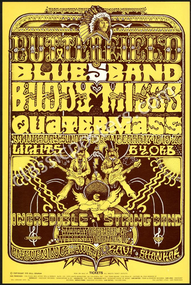 Two Norman Orr-Designed Fillmore Posters