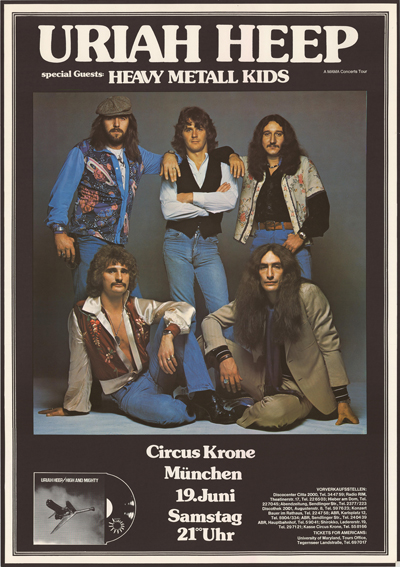 Uriah Heep Poster