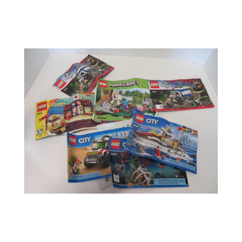 Lego Instructions Marlette Online Auction