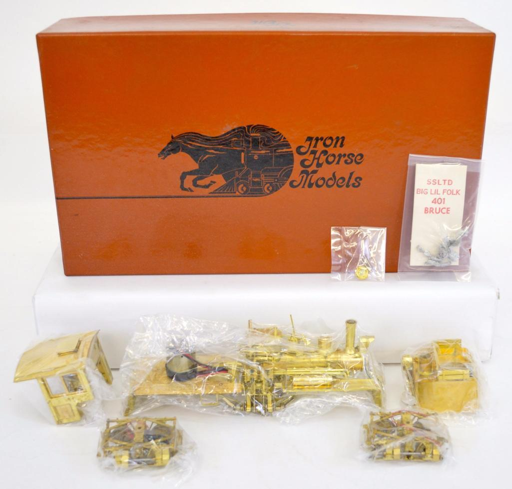 Iron Horse Models On3 scale brass Tee Boiler Shay 16 Ton