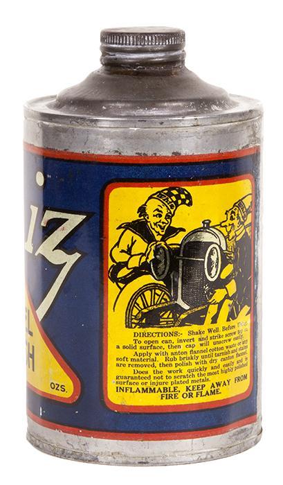 Whiz Nickel Polish Tin