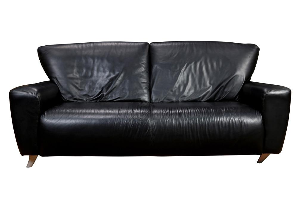 Nicoletti Calia Italian Leather Sofa