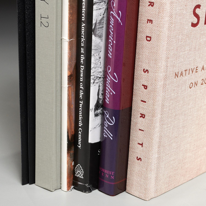 BOOKS: (6) Vols Native American art & artifacts | Millea Brothers