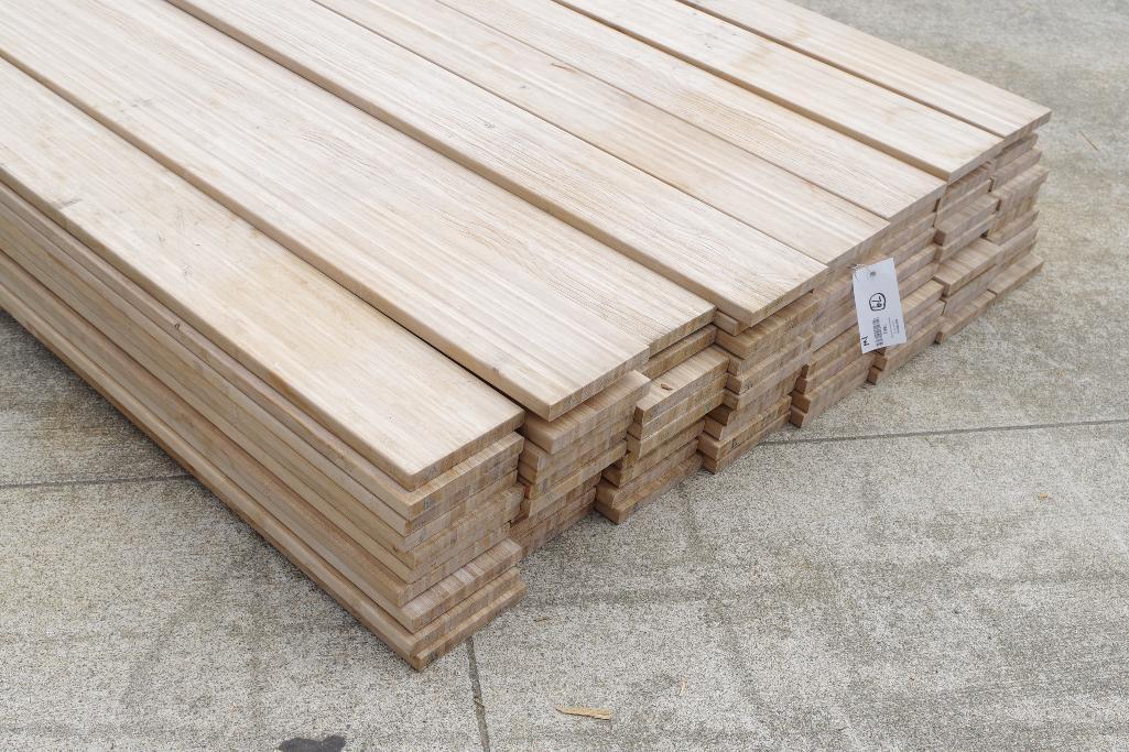 79] BAMKING 1x6 x 16' Bamboo Decking Boards | Bid Venues