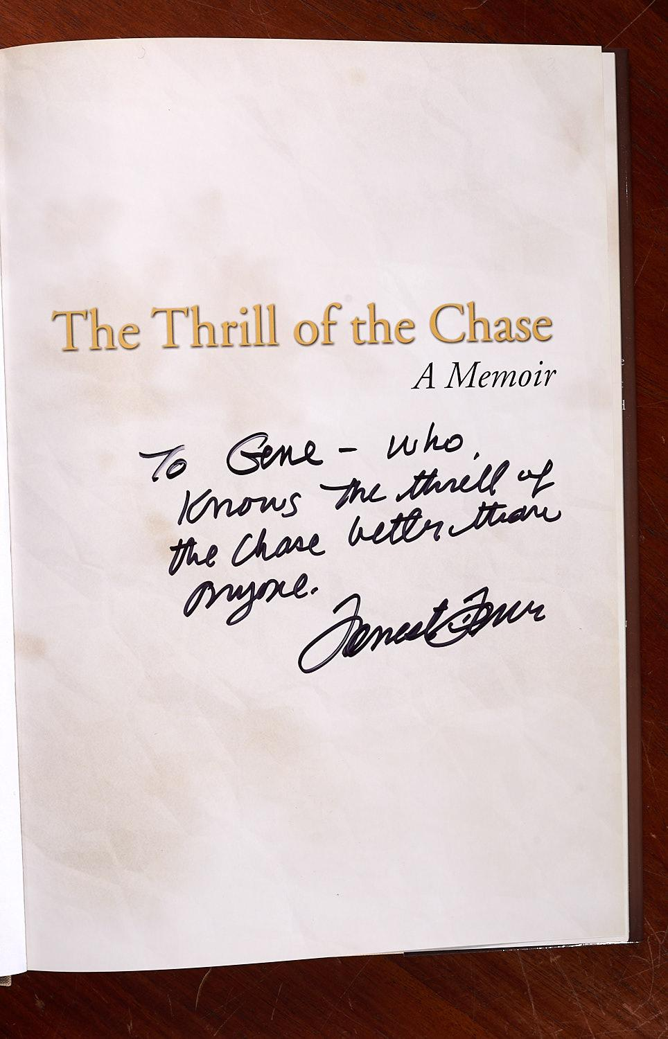 BOOKS: Forrest Fenn SIGNED Thrill of the Chase | Millea Brothers