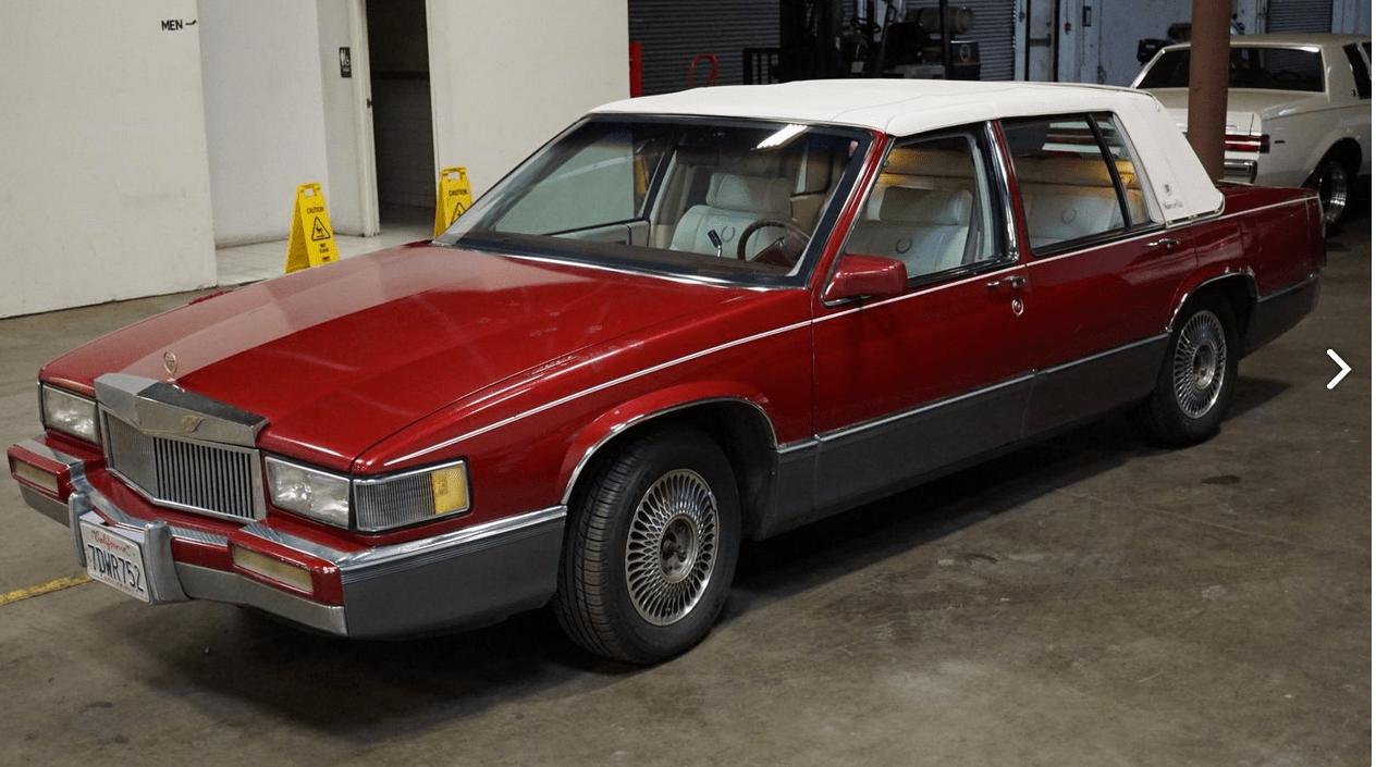 1990 Cadillac De Ville - SALVAGE TITLE | CWS - Asset ...