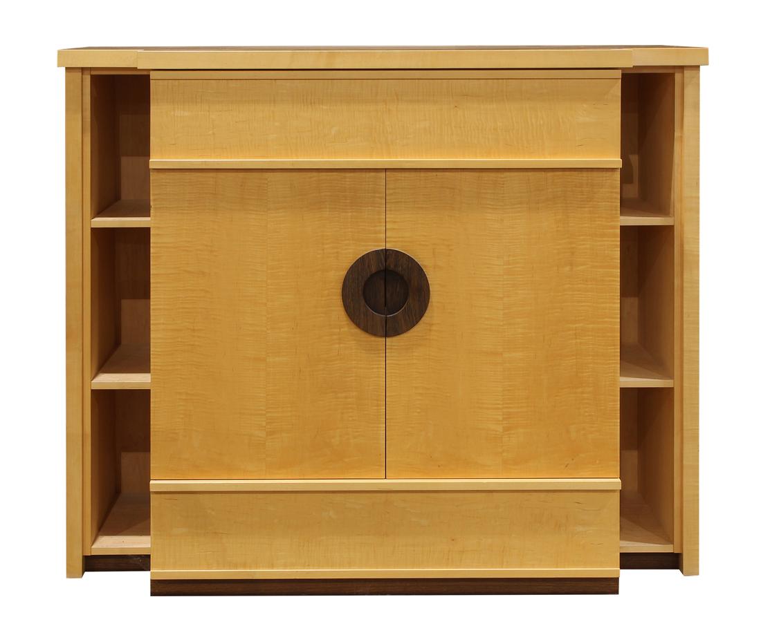 Berkeley Mills custom cabinet