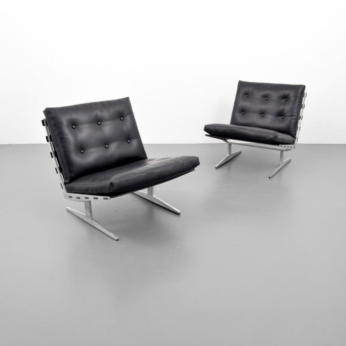 Pair Of Paul Leidersdorff CARAVELLE Lounge Chairs