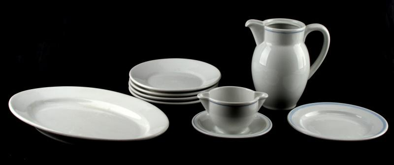 & WWII GERMAN MILITARY MESS HALL CHINA DINNERWARE | Affiliated Auctions