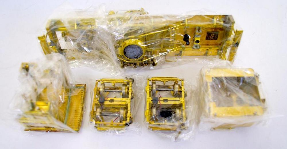 Iron Horse Models On3 scale brass Tee Boiler Shay 16 Ton locomotive kit MIB