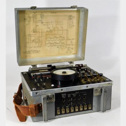 Western Electric 35F Amp Volt Meter Test Set   Bruneau and Co