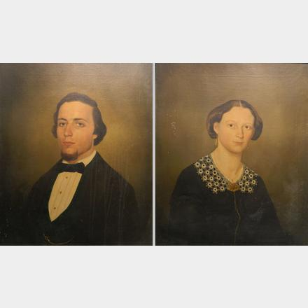 19th c  American School portraits | Rachel Davis Fine Arts