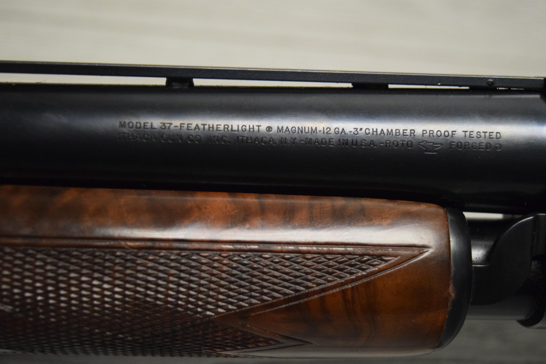 Ithaca Gun Co Model 37 Featherlight 12Ga