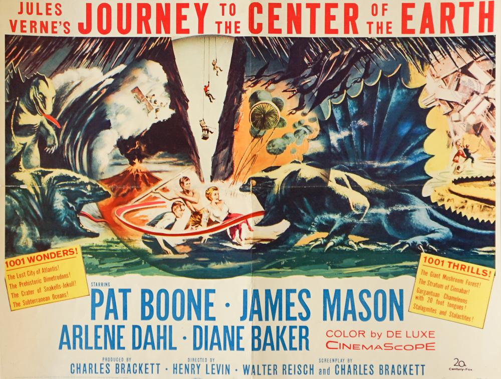 Journey to the Center of the Earth (1959) Poster – Lofty Marketplace