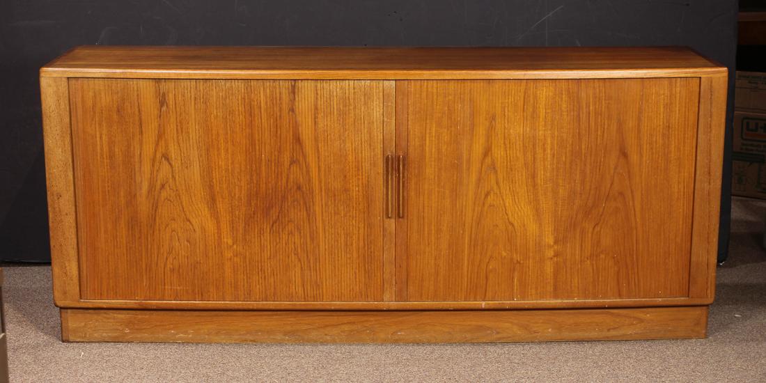 H.P. Hansen for Randers Danish Modern teak sideboard