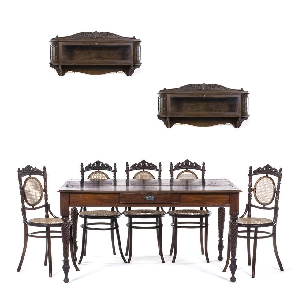 Muebles Para Comedor Siglo Xx En Madera Tallada Y Moldeada  # Muebles Fischel