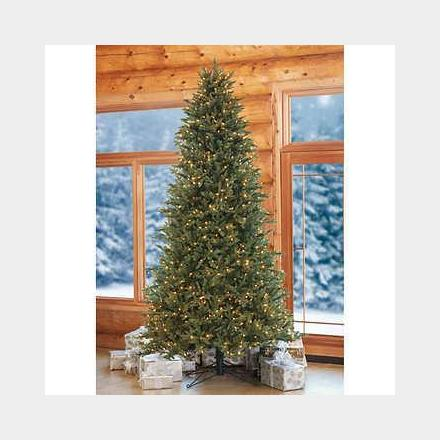 Lot Is Closed - NEW 9' Artificial Pre-Lit LED Christmas Tree, Wholesale $400 Bid