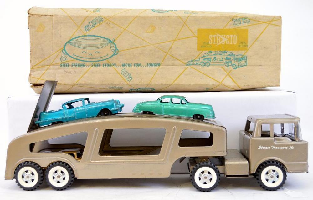 Structo No  502 Auto Transport in original box with all