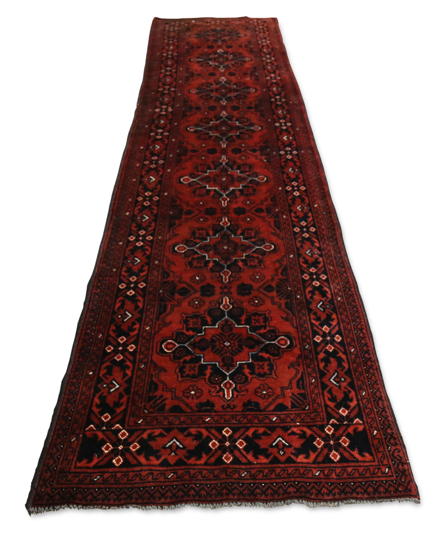 Afghan Belouch runner