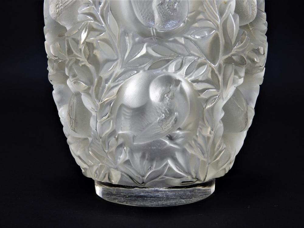Early R Lalique Bagatelle Crystal Glass Bird Vase Lofty Marketplace