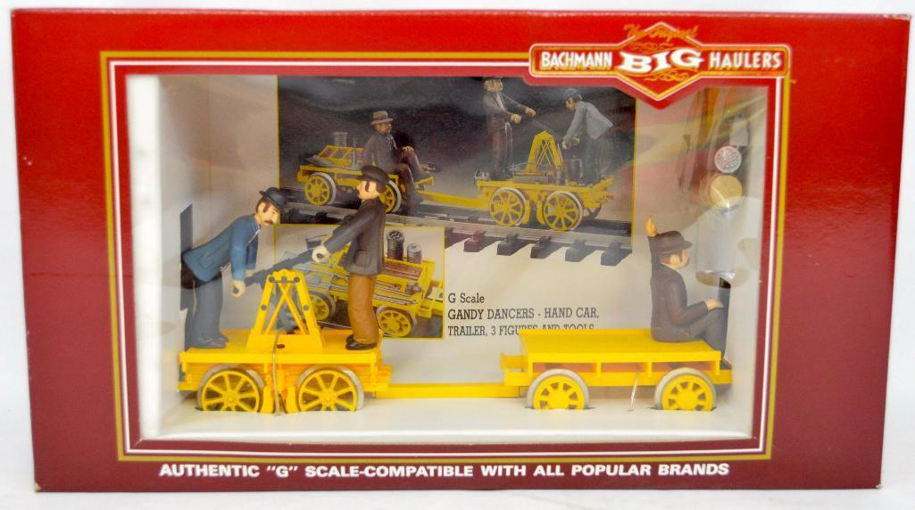 Bachmann Big Hauler G scale 96201 hand car and trailer new