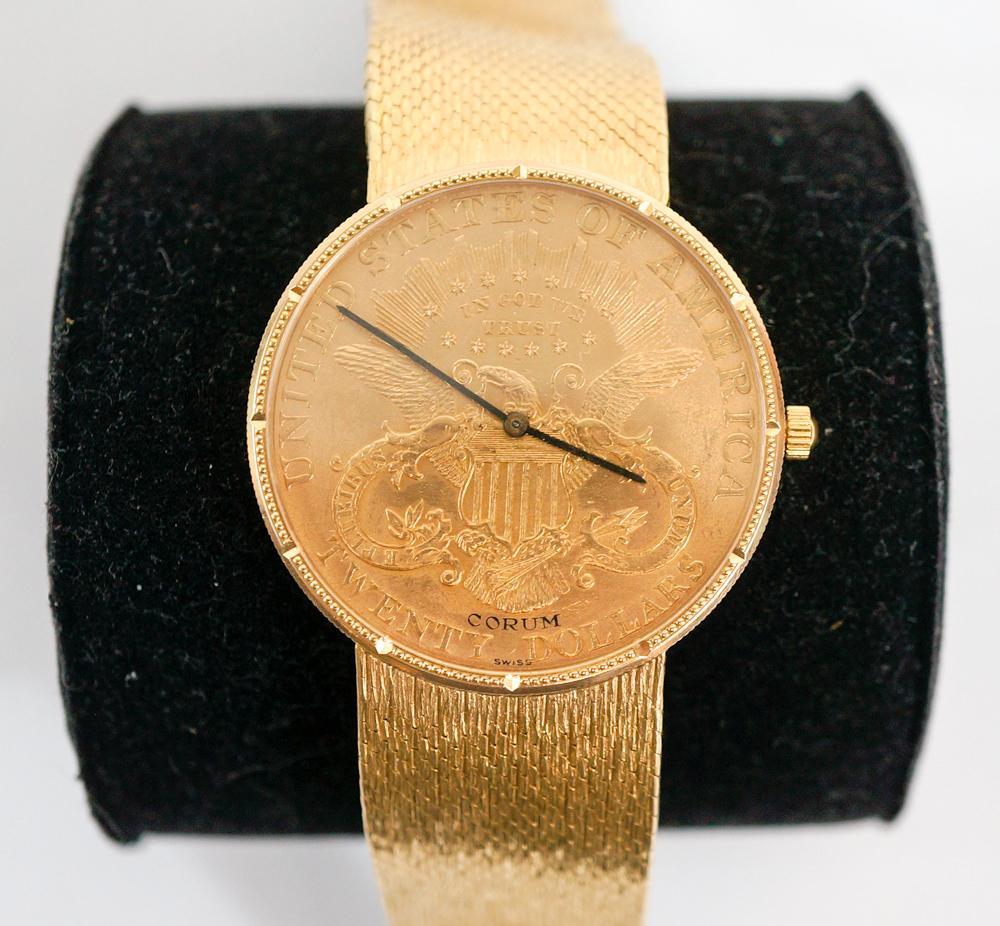 41d19675159da Corum  20 Coin Watch – Lofty Marketplace