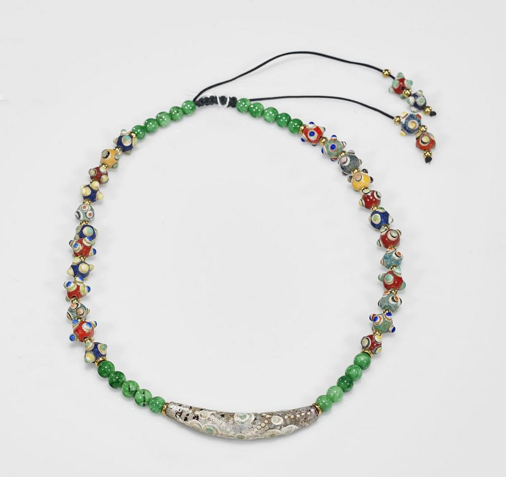 749188d3c Archaistic Chinese Bead Necklace – Lofty Marketplace