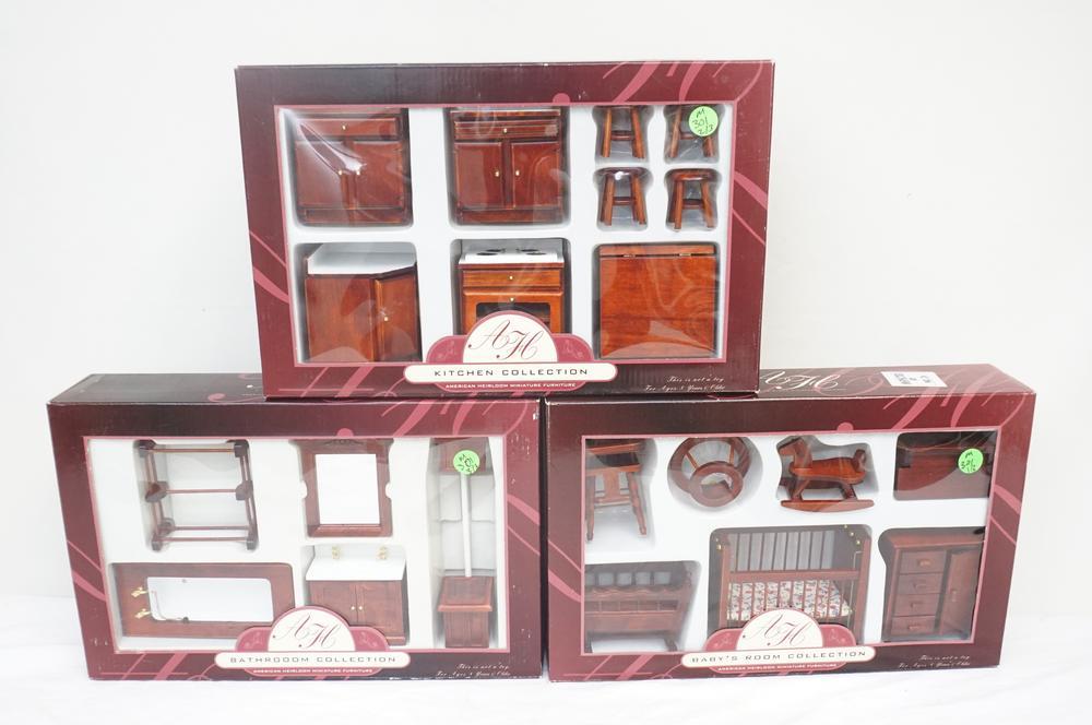 3 Boxed Sets American Heirloom, American Heirloom Furniture