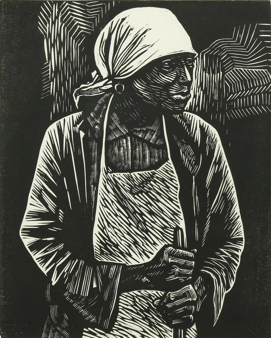 Print, Elizabeth Catlett